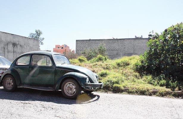 Seis mil lotes baldíos en Tulancingo