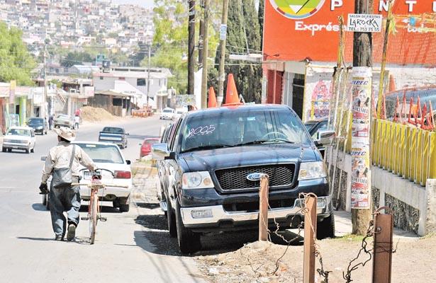 Sancionarán negocios que se extiendan en calles