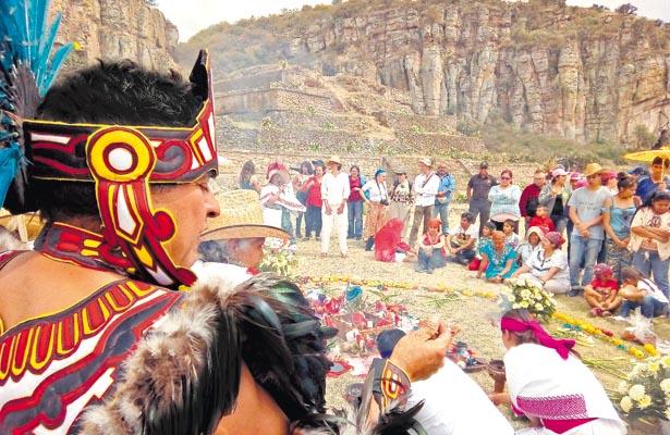 Cargaron bríos, en Huapalcalco