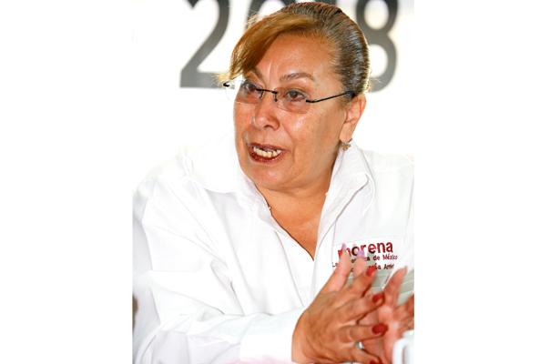 Sí acudiré a los debates, anuncia la candidata al Senado Angélica García Arrieta