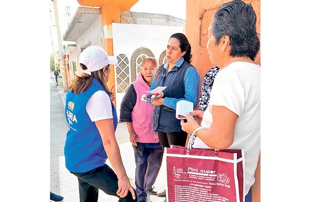 Gloria Romero visitó San Pedro Alpuyeca Candidata a diputada federal por el Distrito V con cabecera en Tula de Allende
