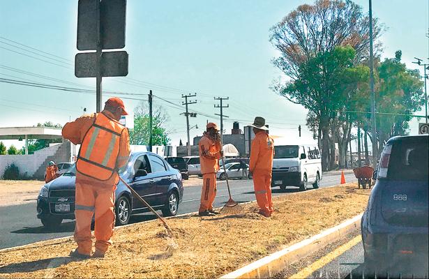 Barrido y mantenimiento en carreteras