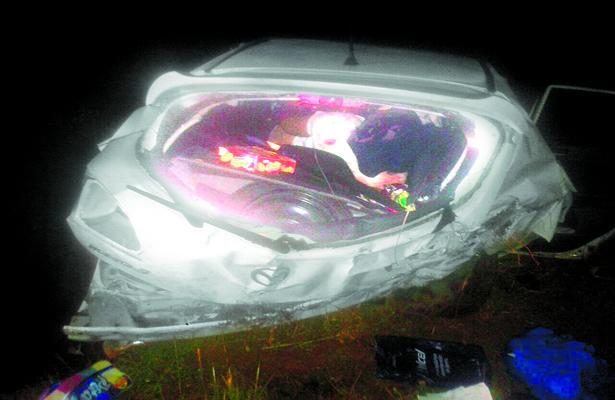 Se accidentaron tres policías; uno falleció, los otros al hospital
