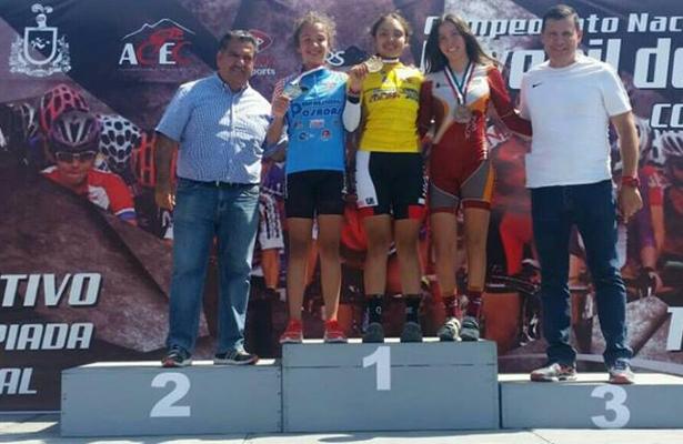 Fernanda Maqueda ganó dos medallas de oro. / Foto: Especial.