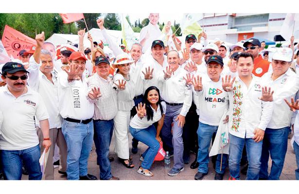 Priistas en campaña