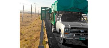 Recuperan camioneta robada con violencia