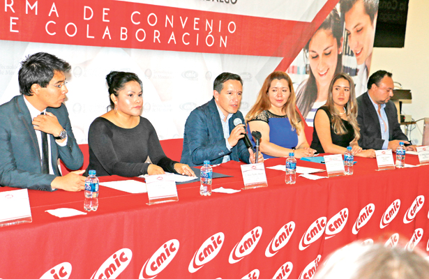 Signan convenio la CMIC Hidalgo y el ITESM campus Pachuca