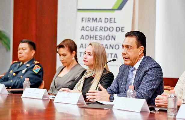 Poderes de Hidalgo firman convenio  para consolidar Sistema de Justicia