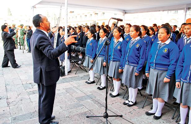 Coros de primarias y secundarias, particulares y oficiales, pueden participar