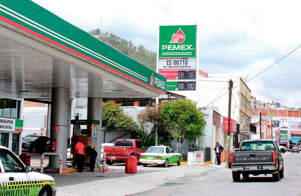 Imparable alza de gasolina
