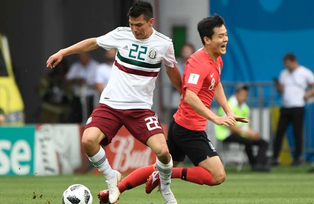 Destaca dupla H. H. En el México vs Corea