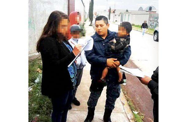 Rescata PPAVIG a niño que escapó de su casa