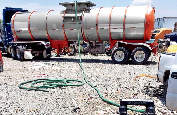 PGR devuelve a PEMEX más de 900 mil litros de hidrocarburo
