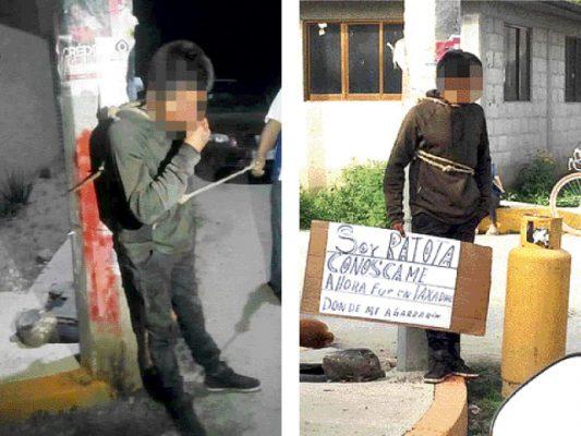 Nuevamente retienen a presuntos ladrones