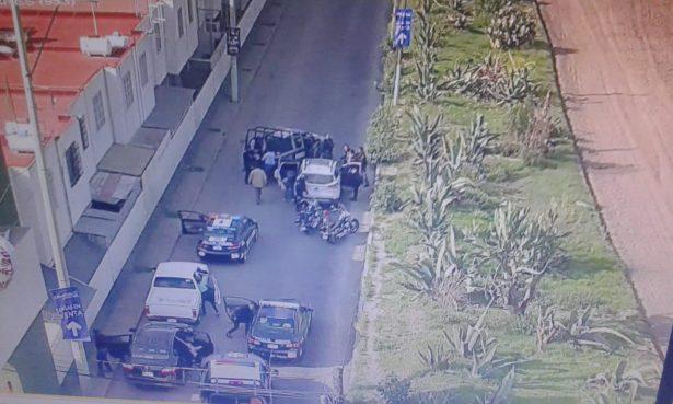 Detienen a dos con arma  de fuego en Pachuca