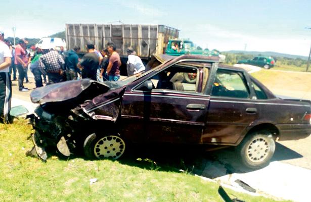 Tremendo accidente en la Pachuca – Tulancingo