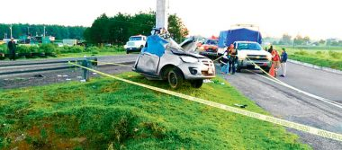 Fallece un varón  en accidente carretero