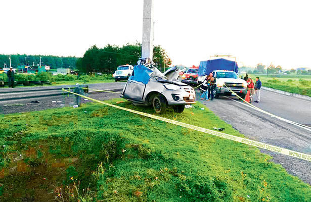 Fallece un varón  en accidente carretero