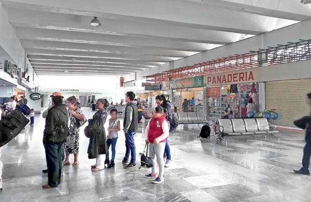 Varios puntos de venta para viajeros de Tulancingo