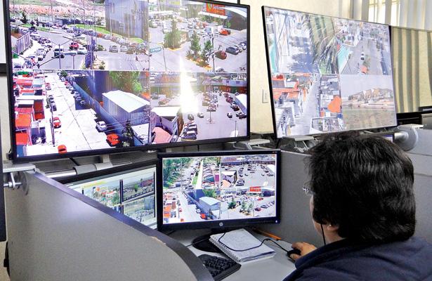 Vigilan más de 2 mil cámaras siete municipios de Hidalgo