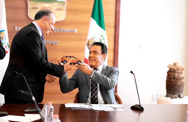 Viable que Hidalgo sea estado emblema de autos eléctricos en México: Massri|
