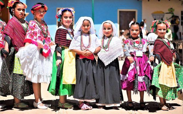 En Tecozautla, Encuentro Estatal de Niños y Niñas Indígenas