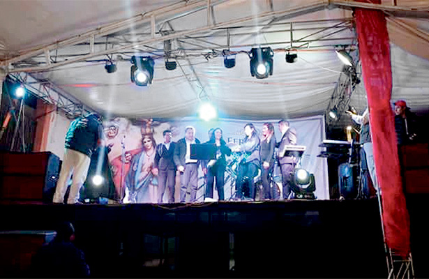 """""""Cumbia Tollán"""", grupo de reciente creación, toca puertas"""