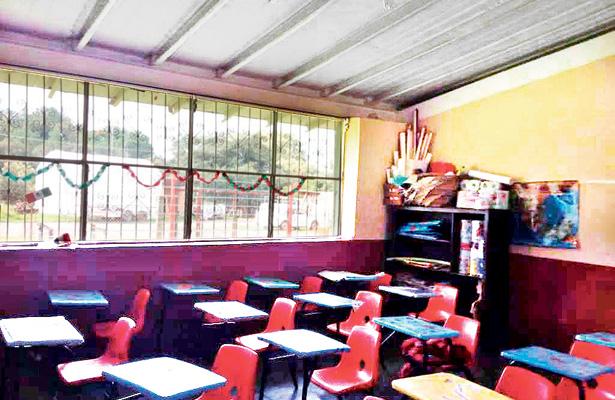Dos escuelas, aún con daños leves tras el sismo del 2017