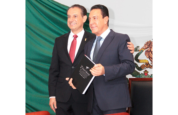 Alcalde Fernando Pérez rinde Segundo  Informe de Gobierno