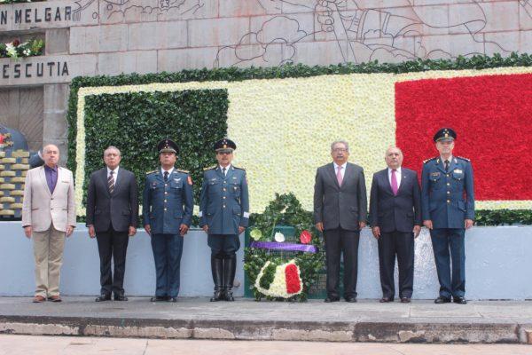 Conmemoran 108 aniversario de gesta heroica de Chapultepec
