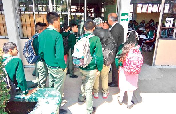 Modifican horarios escolares por seguridad de los alumnos