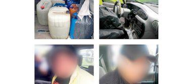 Decomisan drogas y huachicol en Tizayuca