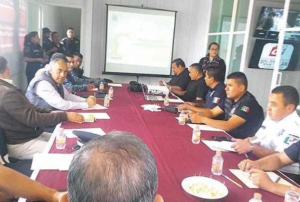 Se reunen autoridades policiales de Hidalgo