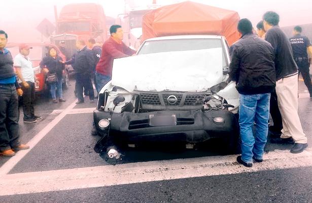 Trágico accidente sobre autopista México-Tuxpan