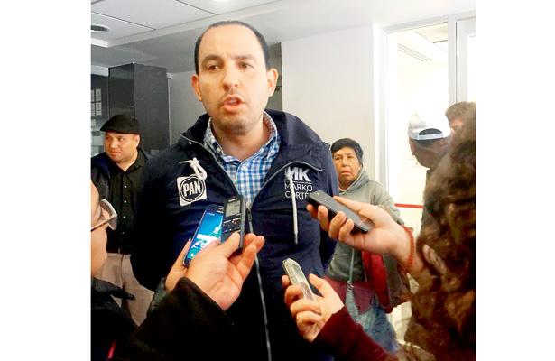 Recibiremos a panistas que se fueron a Morena: Marko Cortés