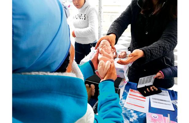 Hidalguenses participan en el  Frente Nacional por la Familia