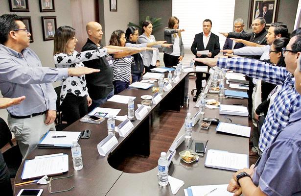 Rindió protesta Comité de Control y Desempeño Institucional de SOPOT
