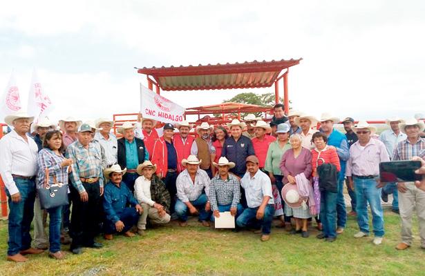 Detonarán producción y comercialización de avena, maíz y frijol, en Huichapan