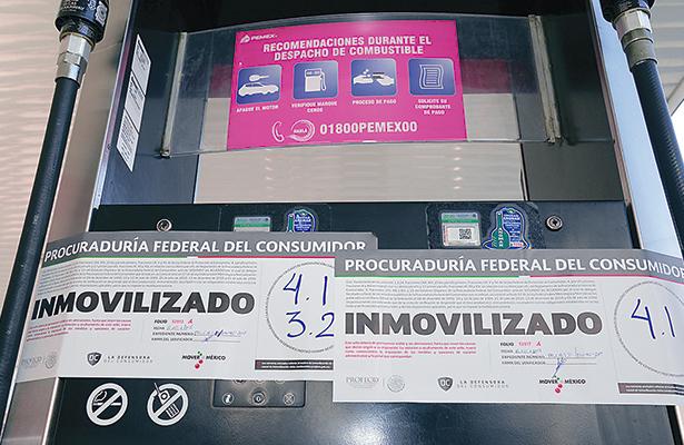 Suspenden a siete gasolinerías por diversas irregularidades e inconsistencias fiscales