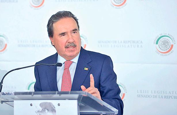 Objetivo del PRI, la defensa de México, reafirmó Gamboa