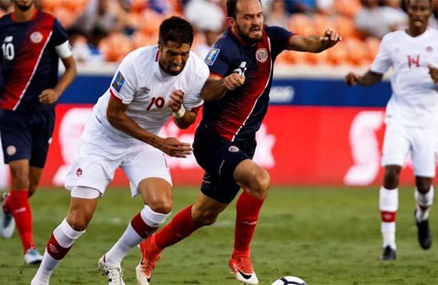 Costa Rica y Canadá con leve ventaja en Grupo A para avanzar en Copa Oro