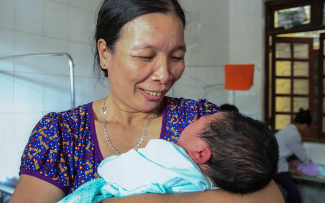 Increíble. Mujer da a luz ¡a un bebé de más de 7 kilos!