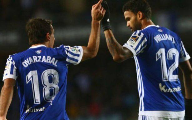 Real Sociedad venció al Eibar y lo sentencia al descenso