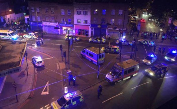 Autoridades confirman muerte de una persona tras incidente en Londres