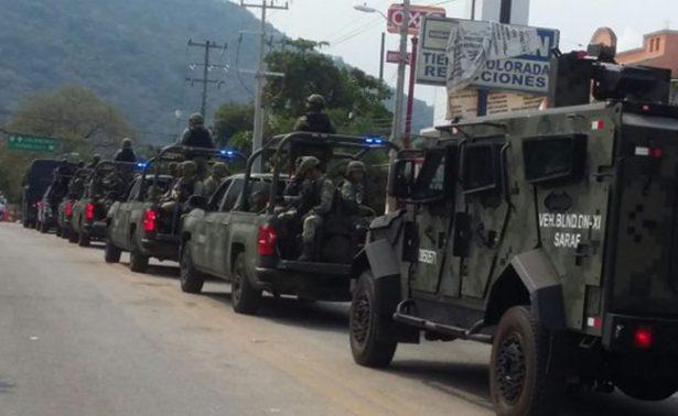 Mil elementos del Ejército reforzarán vigilancia en Guerrero