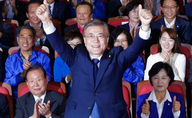 Liberal Moon Jae-in se impone en presidenciales de Corea del Sur