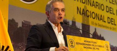 Si no hay Frente Ciudadano, Mancera va firme con el PRD