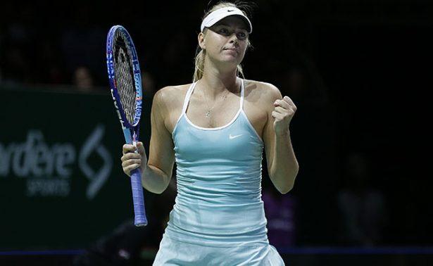 Reacciona Sharapova y vence a Mirjana Lucic