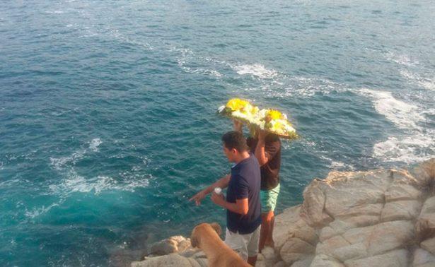 Muere turista que cayó al mar en Playa Mazunte, Oaxaca
