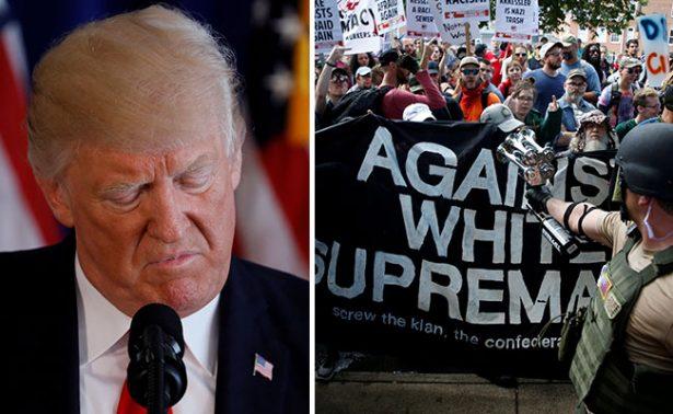 Trump condena a grupos de supremacistas blancos y Ku Klux Klan: Casa Blanca